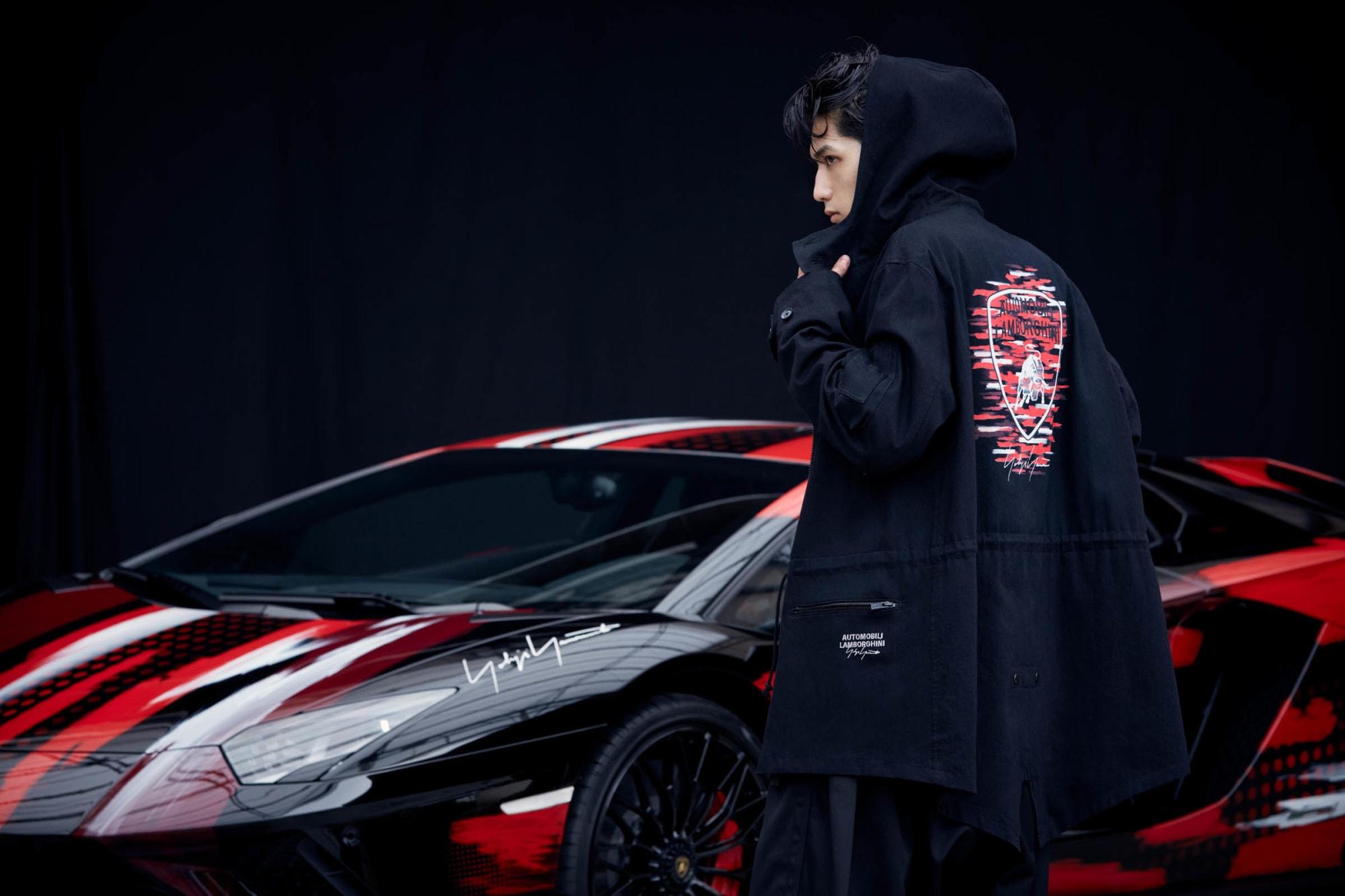 "<span class=""title"">YohjiYamamoto × Lamborghini Collaboration キーヴィジュアルモデル出演</span>"