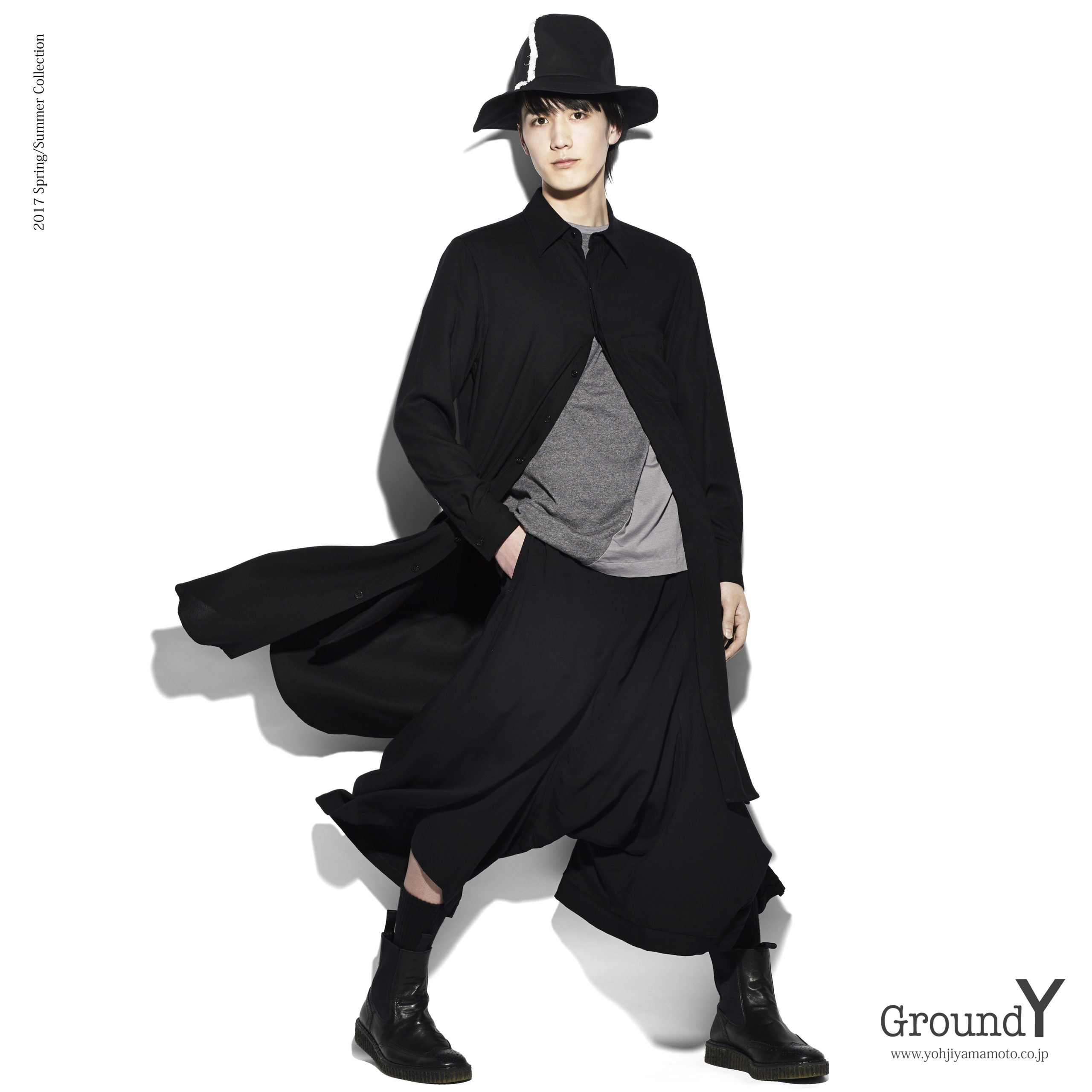 """<span class=""""title"""">GroundY 2017SS 出演</span>"""